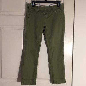 G1 Goods Paper Twill Green Chinos